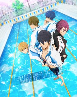 free男子游泳部第四季
